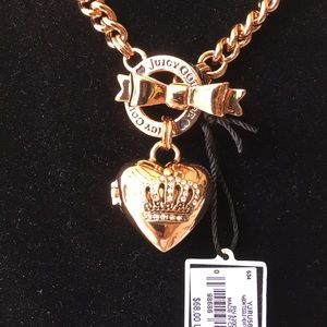 Juicy Couture locket heart ♥️